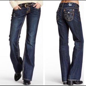 MEK Easter Island Distressed Jeans 28/34